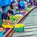 Train Market 2323 by Jijo George