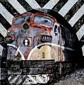 Train Mural by Karen Hanley Colbert