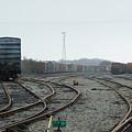 Train On Tracks by Susan Junkins