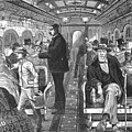 Train: Passenger Car, 1876 by Granger