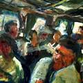 Train Ride by Bob Dornberg