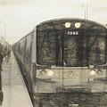 Train Sketch by Melvin Busch