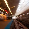 Train Station In Motion by Sven Brogren