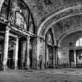 Train Station Lobby Decay by Joseph Skalny