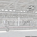 Train Station Series by Rhona Lawrence