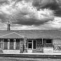 Train Stop Bw by James BO  Insogna