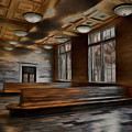 Terminal Station Interior - 03 by Frank Maxwell