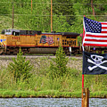 Train The Flags by James BO Insogna