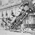 Train Wreck At Montparnasse Station by War Is Hell Store