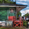 Train - Yard - The Train Station by Mike Savad
