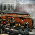 Train - Yard - The Train Yard II by Mike Savad