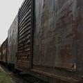 Trains 12 Autochrome by Jay Mann