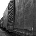 Trains 12 Blkwht by Jay Mann