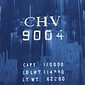 Trains 14 Cyanotype by Jay Mann