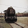 Trains 3 Paint Retro by Jay Mann