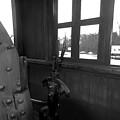 Trains 5 Blkwht by Jay Mann