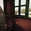 Trains 5 Retro by Jay Mann