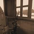 Trains 5 Sepia by Jay Mann