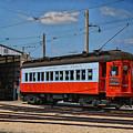 Trains Chicago Aurora Elgin Trolley Car 409 by Thomas Woolworth