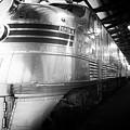 Trains Emd E5 Diesel Locomotive Bw by Thomas Woolworth