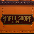 Trains North Shore Line Chicago Signage by Thomas Woolworth