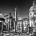 Trajan's Forum - Forum Traiani by Daliana Pacuraru