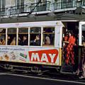 Tram 223, Graca, Lisbon, 1972 by Wernher Krutein
