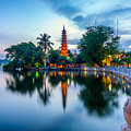 Tran Quoc Pagoda by Dong Bui