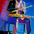 Trane - John Coltrane by David Lloyd Glover