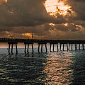 Tranquil Destination Panorama by Gary Keesler