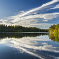 Tranquil Lake In Finland by Sandra Rugina