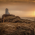 Tranquil Sunset At Llanddwyn Island - Anglesey, North Wales by Christine Smart