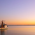 Shrimp Trawler At Dusk 2am-109249 by Andrew McInnes