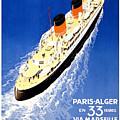 Transatlantic Ocean Liner by Pd