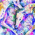 Transcendent Greyhounds by Zaira Dzhaubaeva