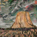 Transcendental Devils Tower by John M Bailey