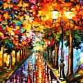Transformation Of The Night by Leonid Afremov