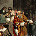 Transition From Alchemy To Chemistry by Wellcome Images