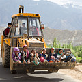 Transport In Ladakh, India by Didier Marti