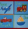 Transportation Modes by Valerie Carpenter
