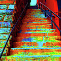 Travel-exorcist Steps by Jost Houk