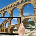 Travel To Pont Du Gard  by Jaroslav Frank