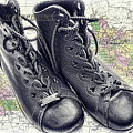Traveling Boots Kentucky by Sharon Popek