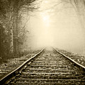 Traveling On The Tracks Antique by Debra and Dave Vanderlaan