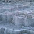 Mammoth Hot Springs Travertine Terraces Two by Bob Phillips
