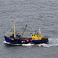 Trawling Off The Dingle Peninsula In Ireland by Patricia Griffin Brett