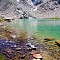 Treasure Lake 3 Rocky Shoreline by Chris Brannen
