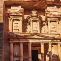 Treasury Of Petra In Color by Mae Wertz