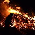 Tree Burning by Michael Hills