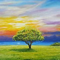 Tree By The Beach by Jessica T Hamilton